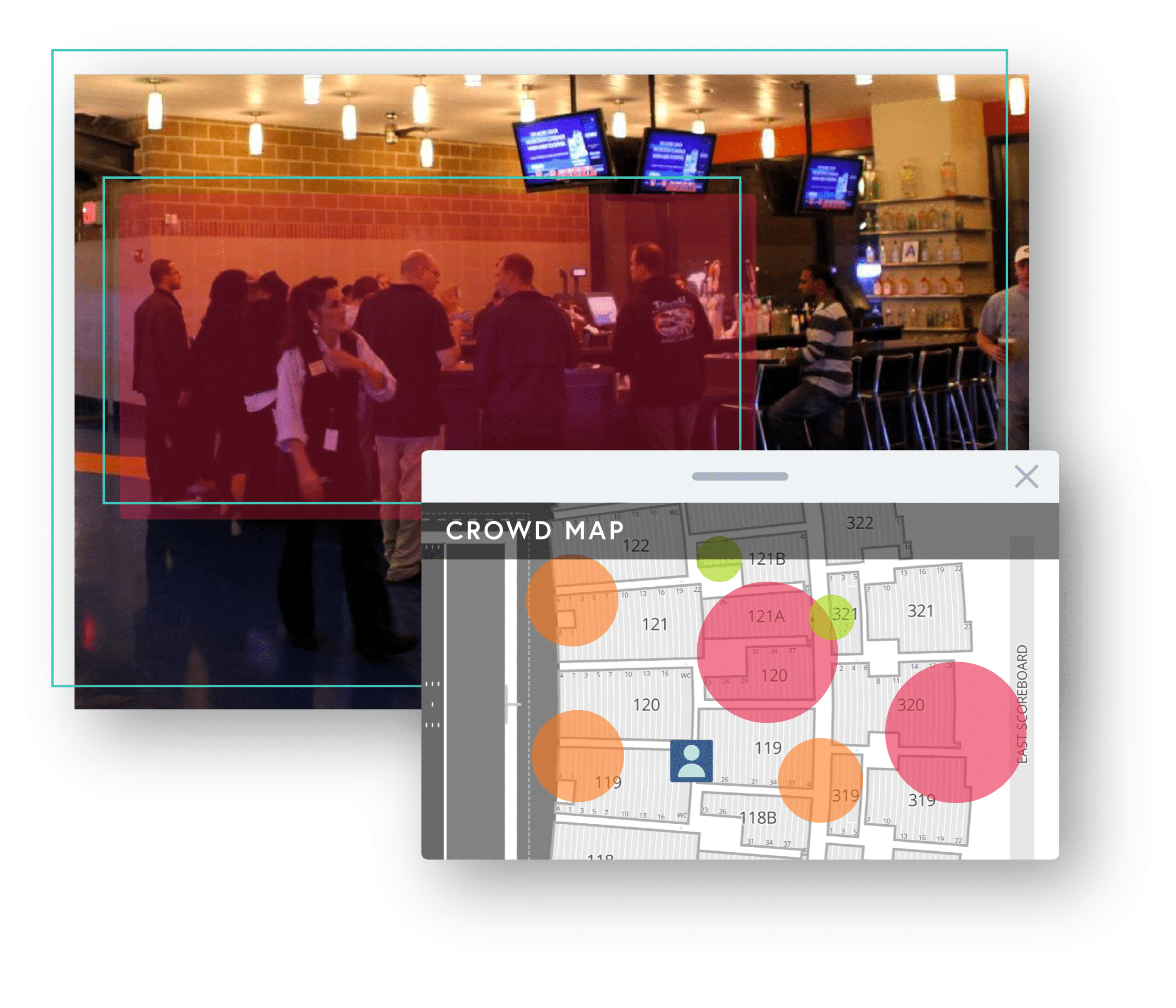 crowd density measurement example